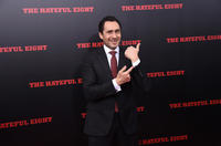 Demian Bichir at the New York premiere of