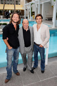 Martin Dingle-Wall, Roy Billing and Dustin Clare at the 52nd TV Week Logie Awards in Australia.