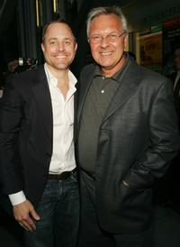 Scott Pask and Walter Bobbie at the opening night of