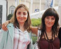 Dominique Blanc and Romane Bohringer at the screening of