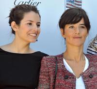 Louise Monot and Romane Bohringer at the 35th edition of the American Film Festival of Deauville.