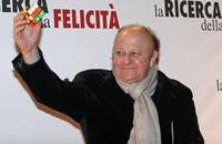 Massimo Boldi at the premiere of