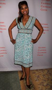 Kimberly Brooks at the Southern California Counseling Center's 40th Anniversary Gala.