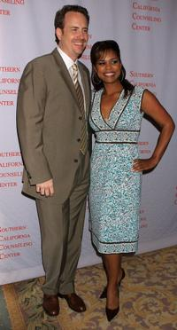 Bob Greenblatt and Kimberly Brooks at the Southern California Counseling Center's 40th Anniversary Gala.