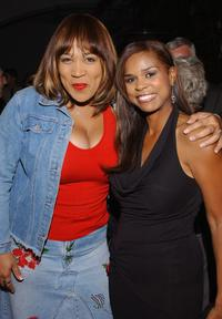 Kimberly Whitley and Kimberly Brooks at the after party of the premiere of