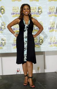 Kimberly Brooks at the 10th Annual Soul Train Lady of Soul Awards.