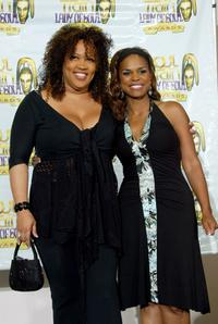 Kym Whitley and Kimberly Brooks at the 10th Annual Soul Train Lady of Soul Awards.