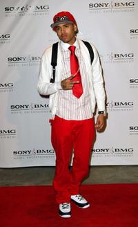 Christopher Brown at the Sony BMG Music 2008 Grammy Awards After Party.