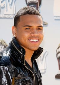 Christopher Brown at the 17th Annual MTV Movie Awards.