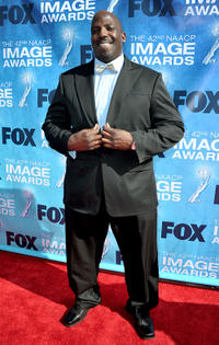 Kevin Brown at the 42nd NAACP Image Awards in California.