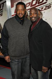 Grizz Chapman and Kevin Brown at the premiere of