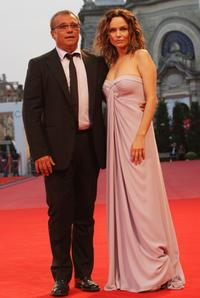 Claudio Amendola and Francesca Neri at the premiere of