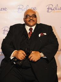 Solomon Burke at the red carpet for The Ernest Borgnine Pre-Oscar party.