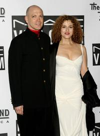 Charles Busch and Bernadette Peters at the Actors Fund of Americas star studded gala Thats Entertainment.