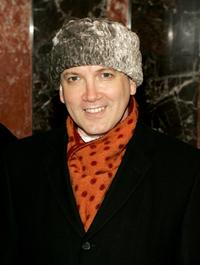 Charles Busch at the opening night performance of