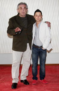 Gianni Cavina and Pierpaolo Zizzi at the photocall of