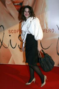 Valentina Cervi at the Italian premiere of