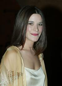 Valentina Cervi at the closing ceremony of Marrakesh International Film Festival.
