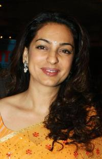Juhi Chawla at the B&D Hair and Makeup Awards.
