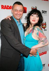 Radar Maer Roshan and Margaret Cho at the screening of
