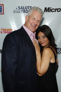 Lenny Clarke and Callie Thorne at the