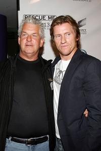 Lenny Clarke and Denis Leary at the premiere of