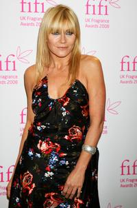 Michelle Collins at the FiFi UK Fragrance Awards 2008.