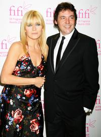 Michelle Collins and Sean Gallagher at the FiFi UK Fragrance Awards 2008.