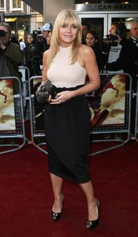 Michelle Collins at the opening night of