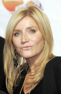 Michelle Collins at the Nickelodeon Kids Choice Awards.