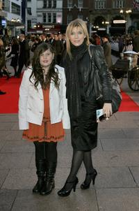 Michelle Collins and Guest at the world premiere of