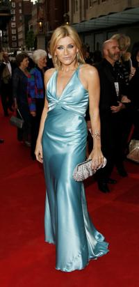 Michelle Collins at the Pioneer British Academy Television Awards 2006.