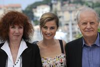 Sabine Azema, Anne Consigny and Andre Dussolier at the photocall of
