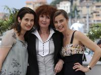 Emmanuelle Devos, Sabine Azema and Anne Consigny at the photocall of