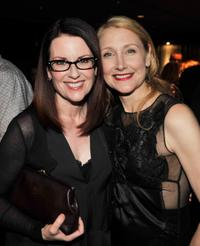 Megan Mullally and Patricia Clarkson at the after party of the California premiere of