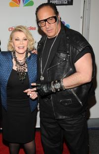 Joan Rivers and Andrew Dice Clay at the