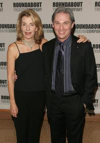 Jill Clayburgh and Richard Thomas at the opening night of