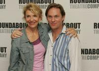 Jill Clayburgh and Richard Thomas at the rehearsals of