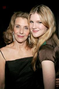 Jill Clayburgh and her daughter Lily Rabe at the Opening Night Of