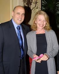 Jill Clayburgh and Jeffrey Tambor at the Sarasota Film Festival.