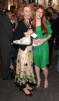 Jill Clayburgh and Lily Rabe at the Broadway Opening of