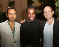 Damon D'Oliveira, Clement Virgo and Jeff Sackman at the Thinkfilm's TIFF Breakfast.