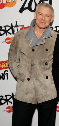 Adam Clayton at the Brit Awards 2009.