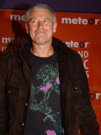 Adam Clayton at the Meteor Ireland Music Awards 2006.