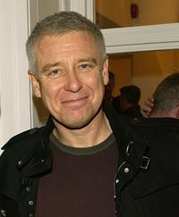 Adam Clayton at the opening of new collection by the artist Guggi.