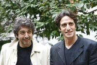 Ricardo Darin and Diego Peretti at the presentation of