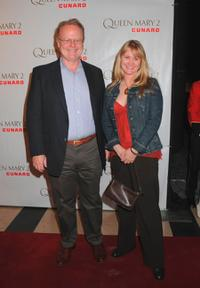 Christian Clemenson and Trish Gates at the premiere of