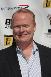 Christian Clemenson at the pre-Emmy Awards tea party.