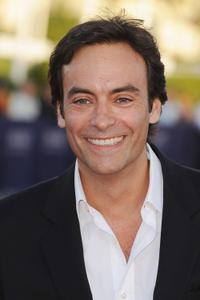 Anthony Delon at the premiere of