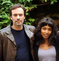 Anthony Delon and Sara Martins at the press conference of